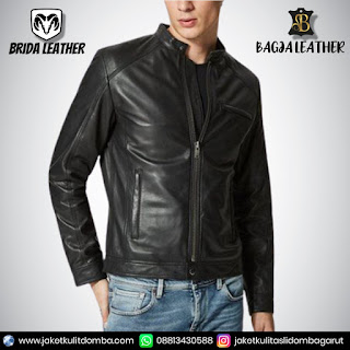 ciri2 jaket kulit asli