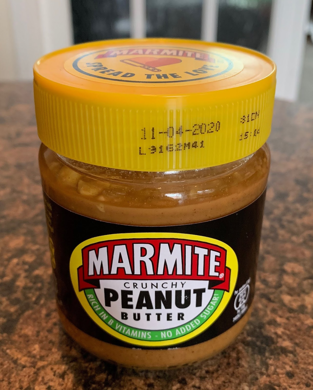 FOODSTUFF FINDS: Marmite Crunchy Peanut Butter (Asda) By