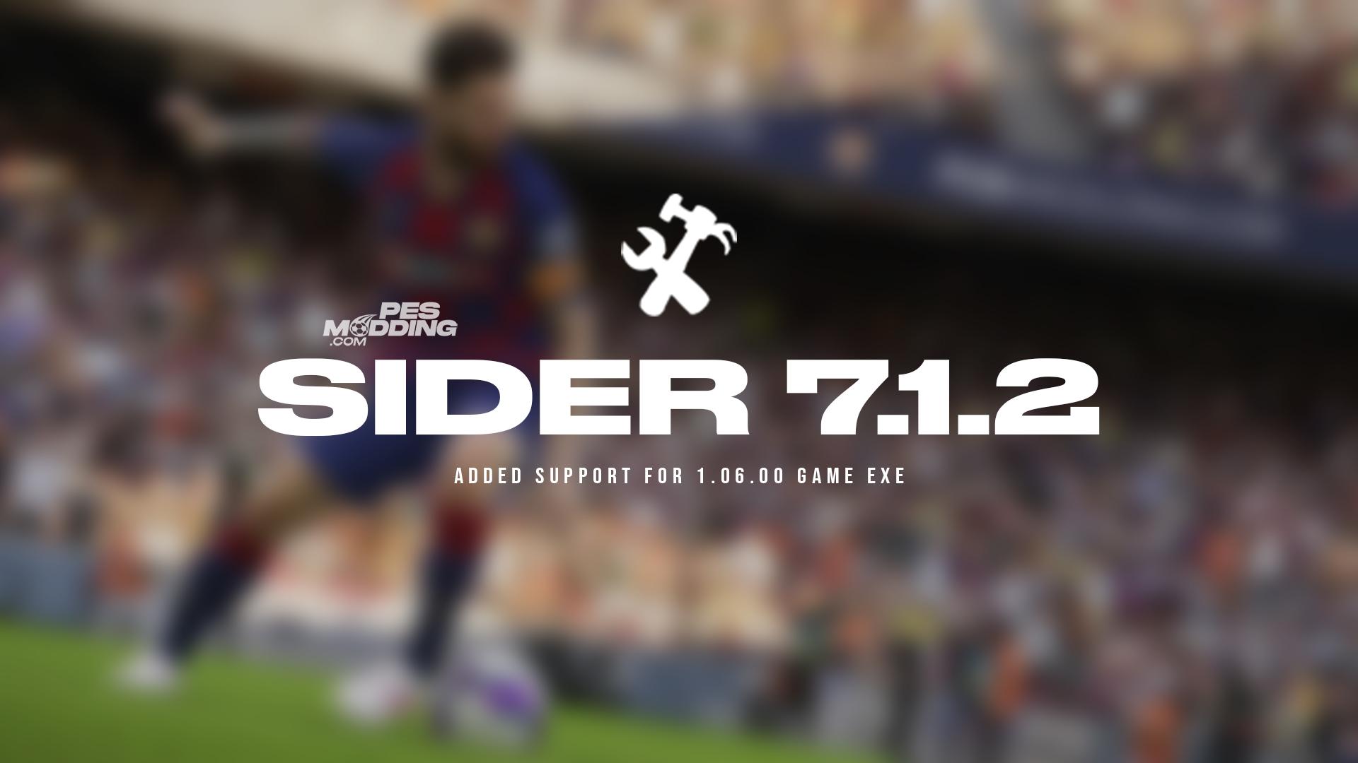 PES 2021 Sider 7.1.2