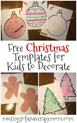 free printable Christmas activities