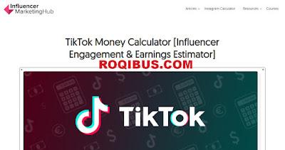 tiktok money calculator indonesia