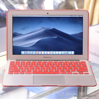 "Jual MacBook Air Core i5 11"" Early 2015 Fullset Banyuwangi"