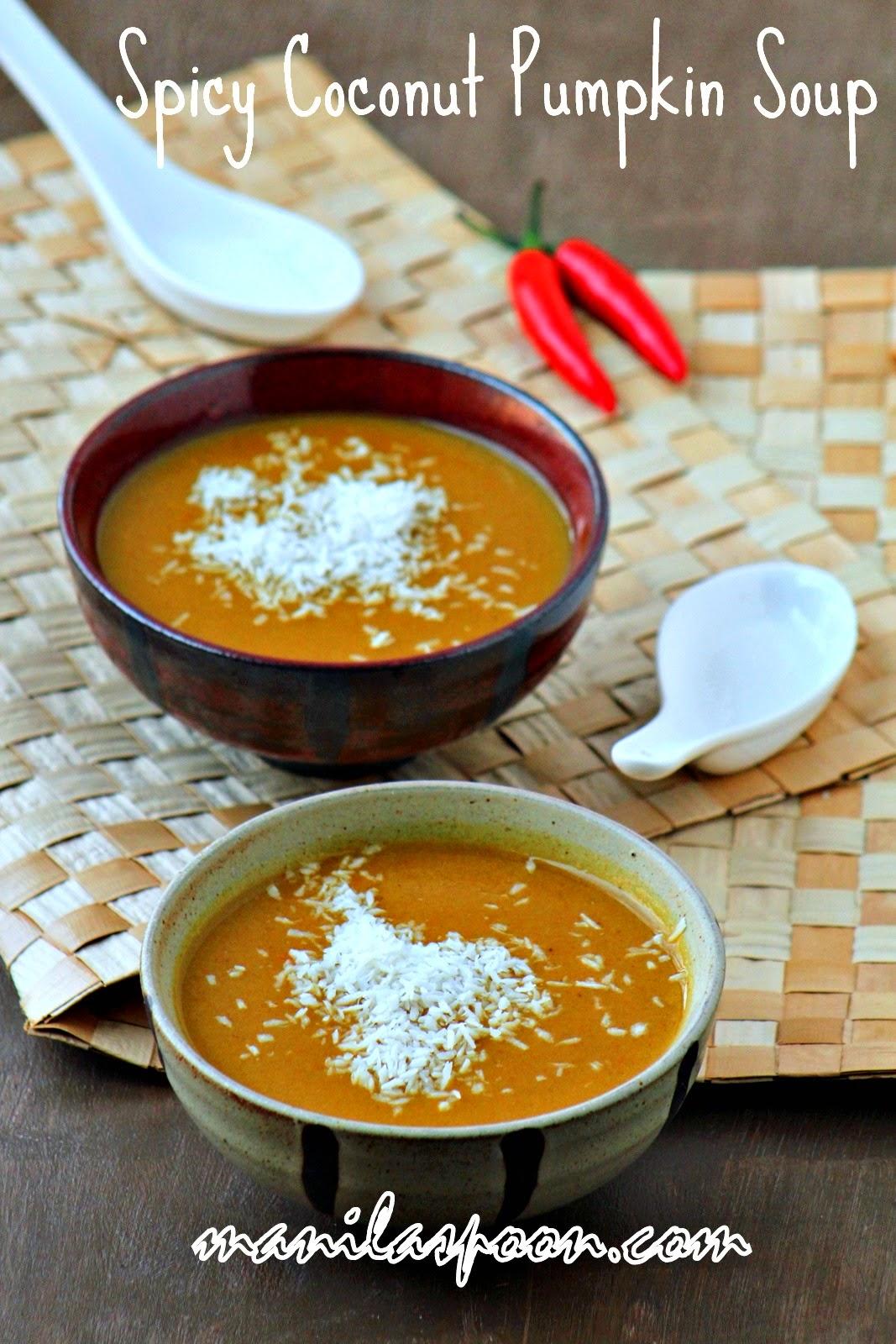 Spicy Coconut Pumpkin Soup