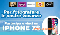 Logo ''Fotografa le vostre vacanze'' e vinci 5 iPhone XS 64GB con Sheba, Whiskas, Perfect Fit, Pedegree e Cesar