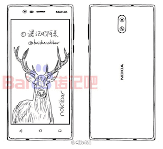 صور ومواصفات جديده مسربه لجهاز نوكيا Nokia الجديد العامل بنضام اندرويد e1 , dc1