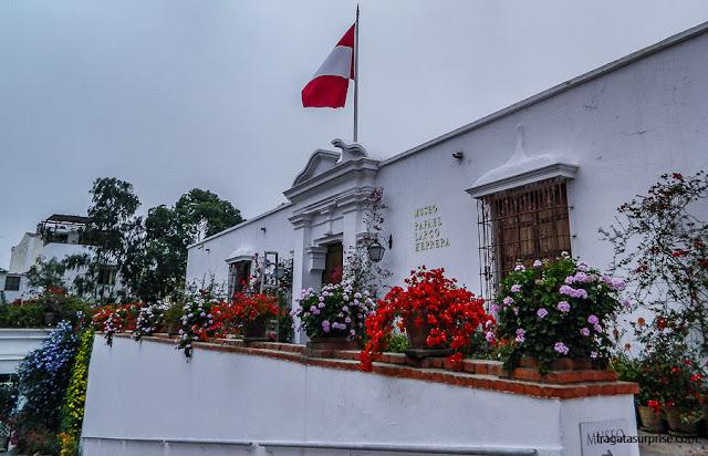 Jardins do Museu Larco, Lima, Peru