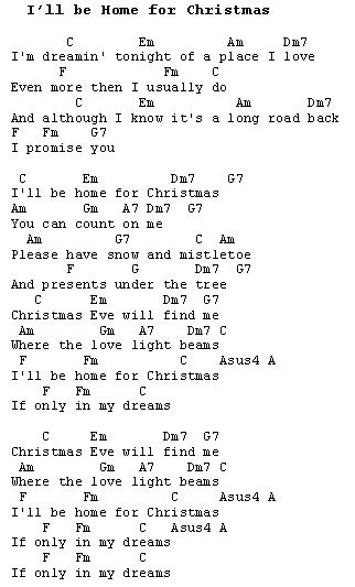 Ill Be Home For Christmas Chords.Christmas Carols Lyrics And History I Ll Be Home For