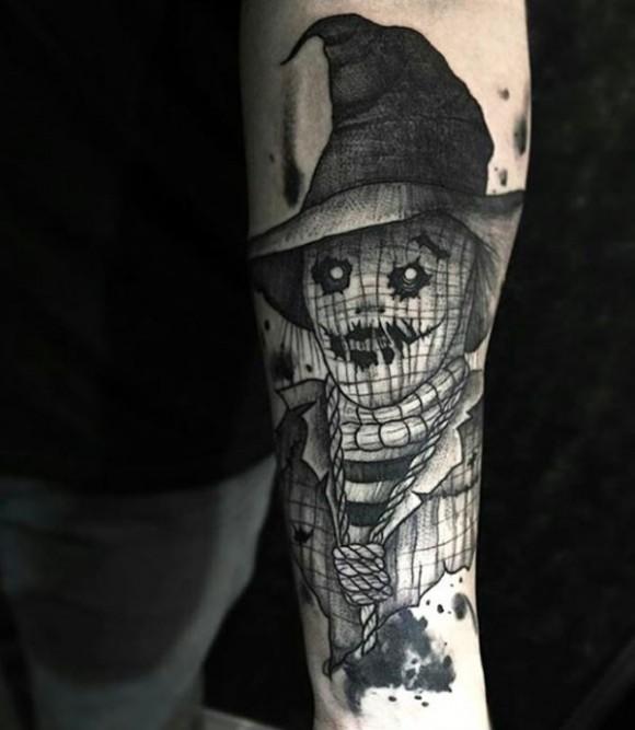 Tatuaje de espantapájaros