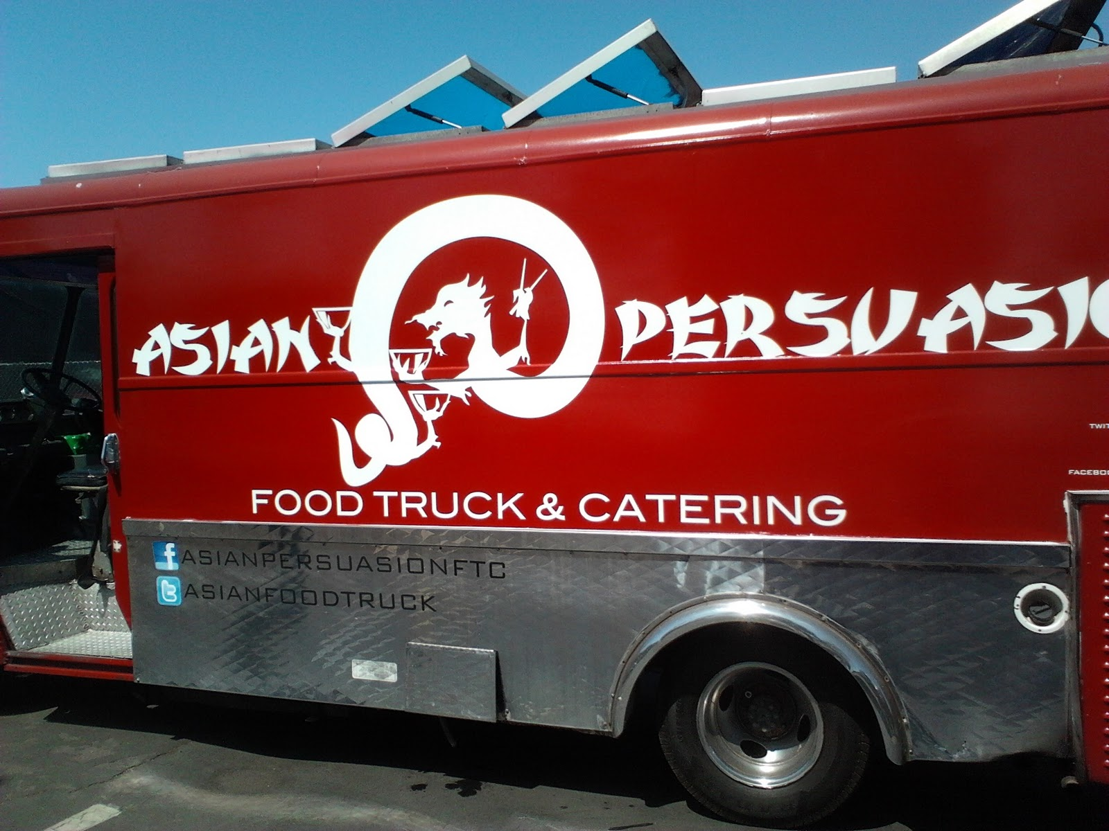 Japanese Cuisine Food Truck Food Truck Amy Reviews Asian Persuasion Bbq Chicken