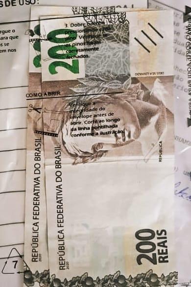VENDEDOR TROCA DINHEIRO E PEGA  2 NOTAS FALSAS DE R$ 200,00.  DELEGADO ABRE INQUÉRITO PARA APURAR DERRAME DE CEDULAS EM MOGI
