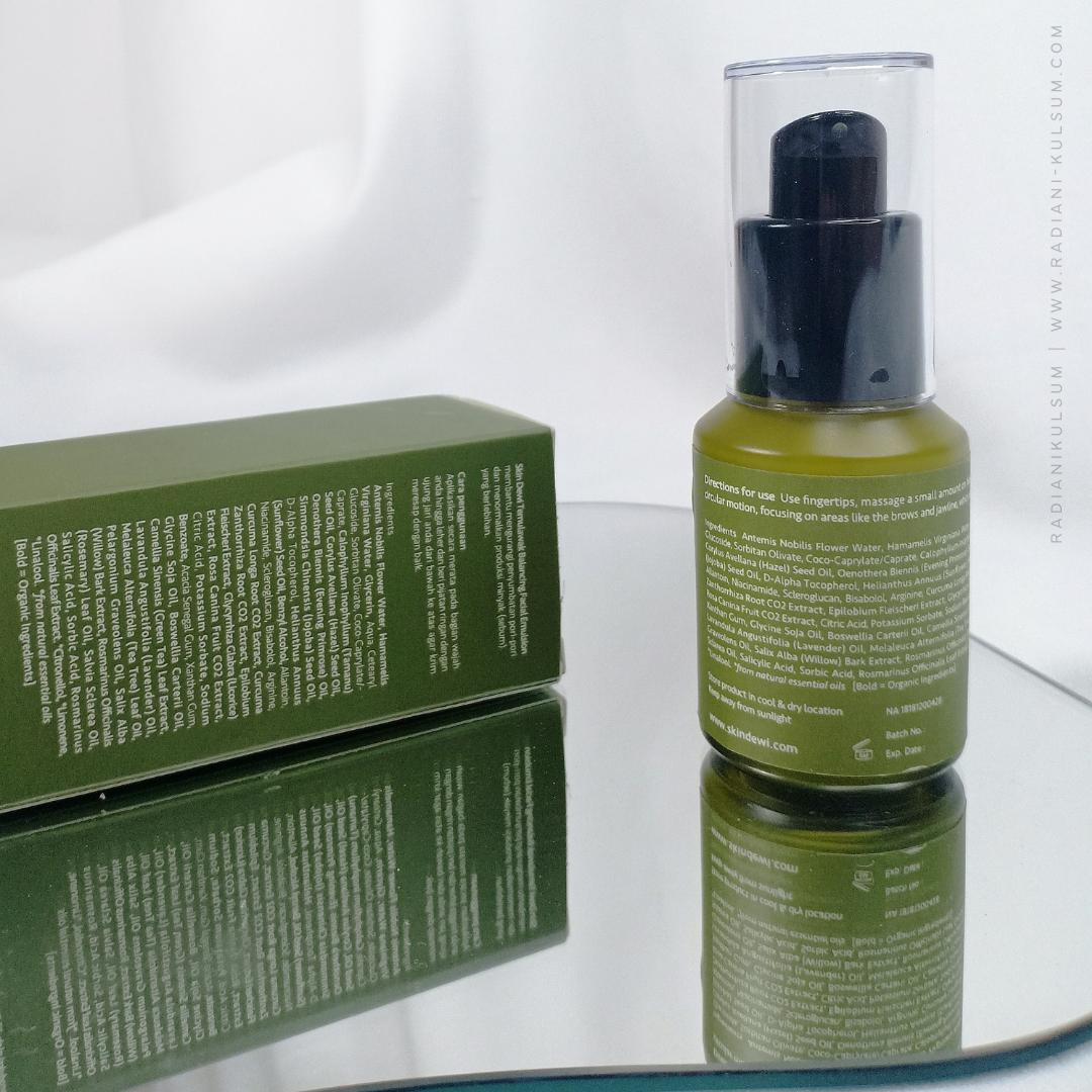 Kemasan Skin Dewi Temulawak Balancing Facial Emulsion