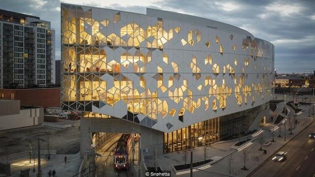 Ảnh đẹp thư viện Calgary