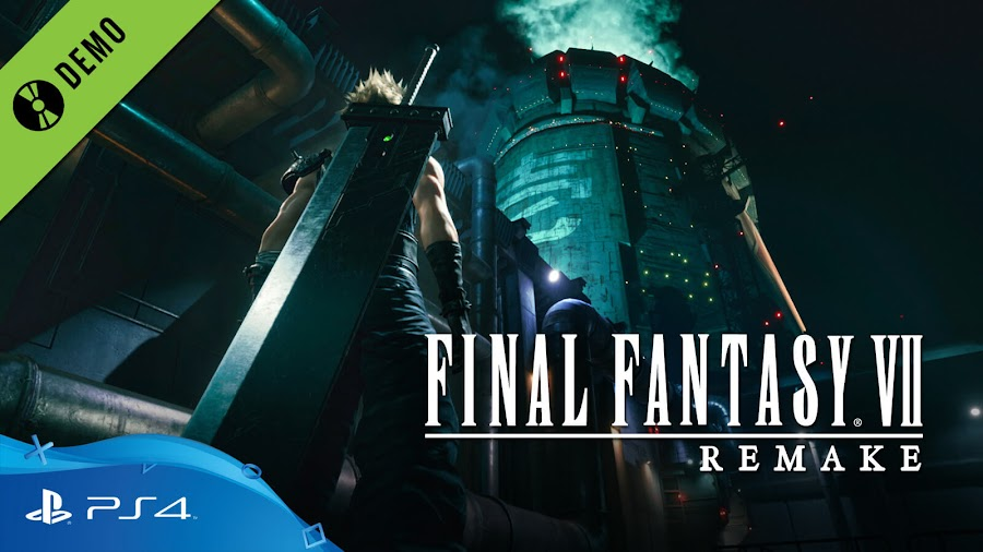 final fantasy 7 remake demo ps4 free playable ps4 timed exclusive square enix