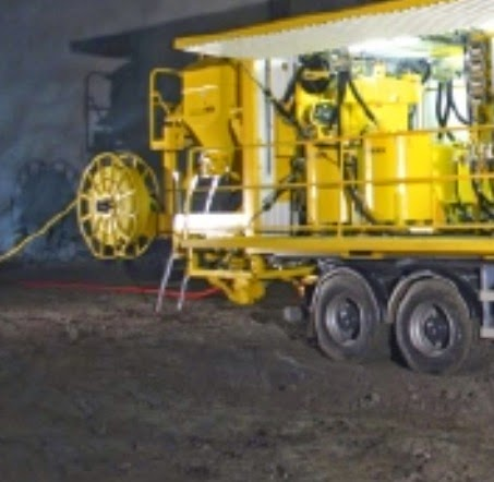 Truck mounted grouting system for micropile