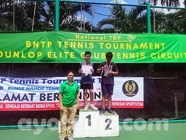 Kejurnas Tenis Yunior BNTP Tennis Tournament  Dunlop Elite Club Tennis Circuit Seri 1: Inilah Juaranya