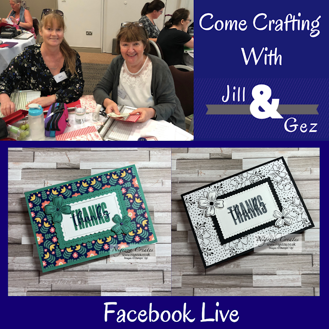 Come Crafting With Jill & Gez Facebook Live