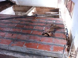 Lantai panel beton keramik