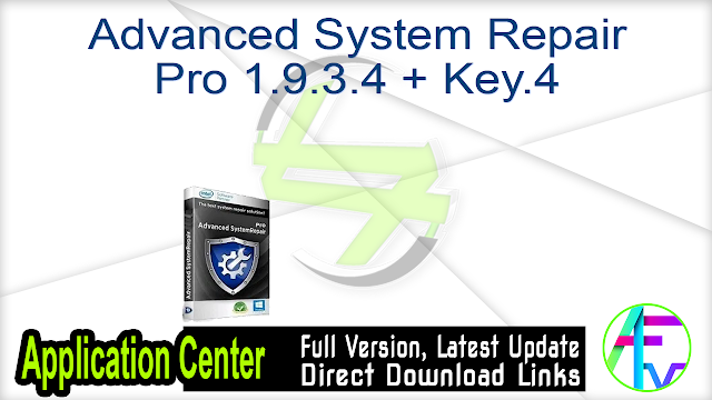 Advanced System Repair Pro 1.9.3.4 + Key