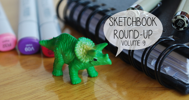Sketchbook Round-Up: Volume 9 | Yeti Crafts