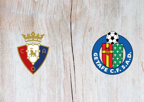 Osasuna vs Getafe -Highlights 03 April 2021