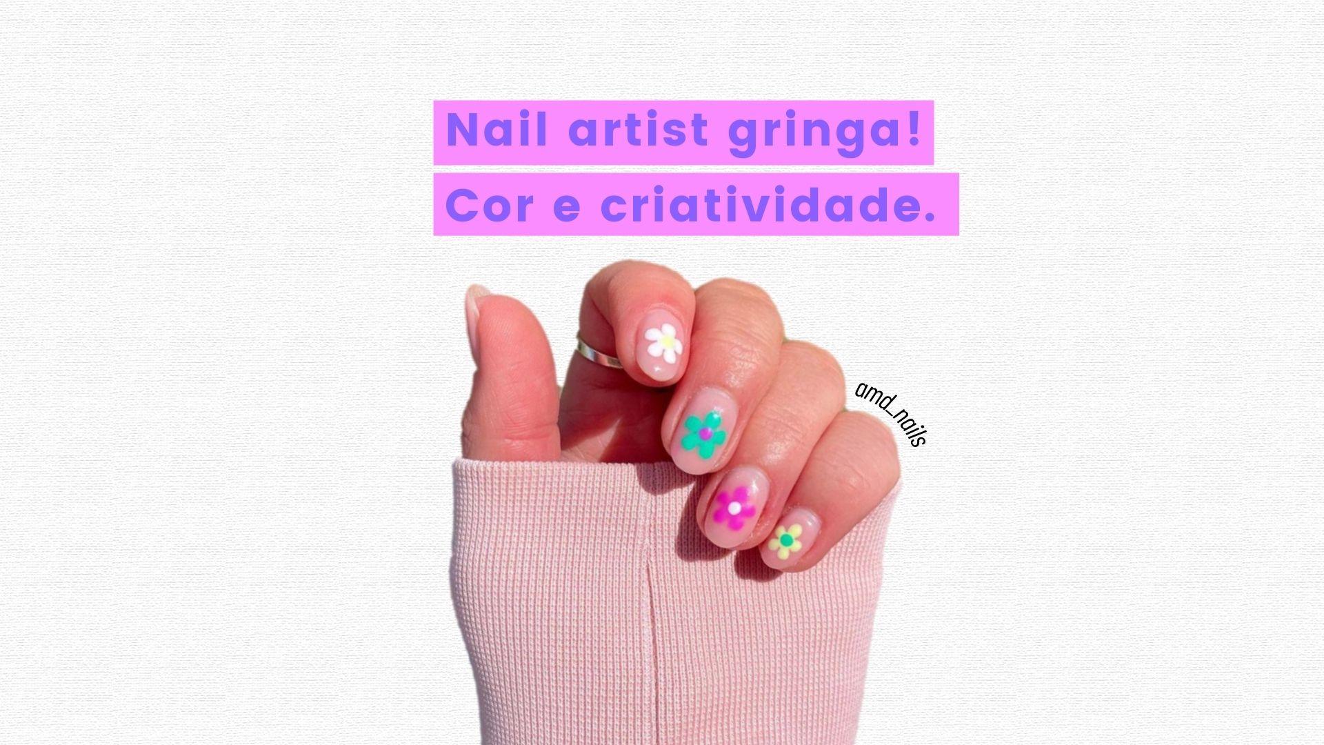 nail artist gringa