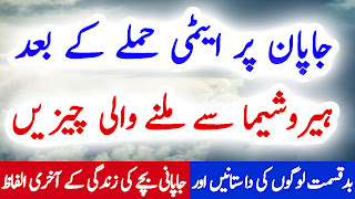 Hiroshima History In Urdu Hindi Atomi Hamlay Ke Baad Milnay Wali Cheezain Part 1
