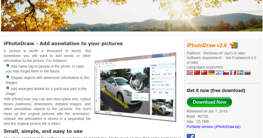 iPhotoDraw - Best Annotation Tool (Freeware) | Technology