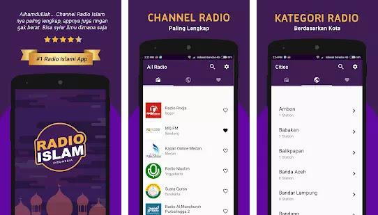 Aplikasi Radio Untuk Mendengarkan Dakwah Islam-2
