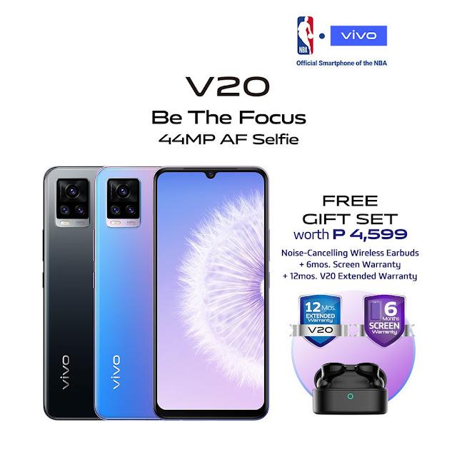Vivo V20 now on Shopee