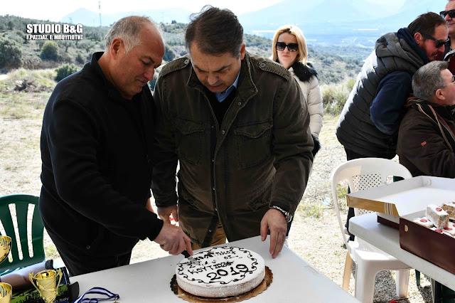 Παρουσία Καμπόσου ο Σκοπευτικός Συλλογος Κουτσοποδίου έκοψε την πίτα του