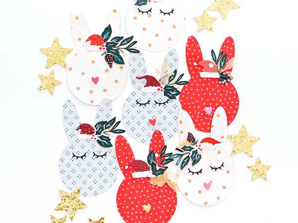 Crate Paper Design Team : Christmas Bunny Banner