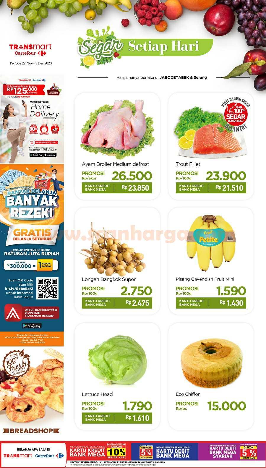 Katalog Carrefour Promo Produk Fresh Weekend 27 November - 3 Desember 2020