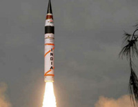Nuclear Capable Agni 5 Missile, India Successfully Test Fires