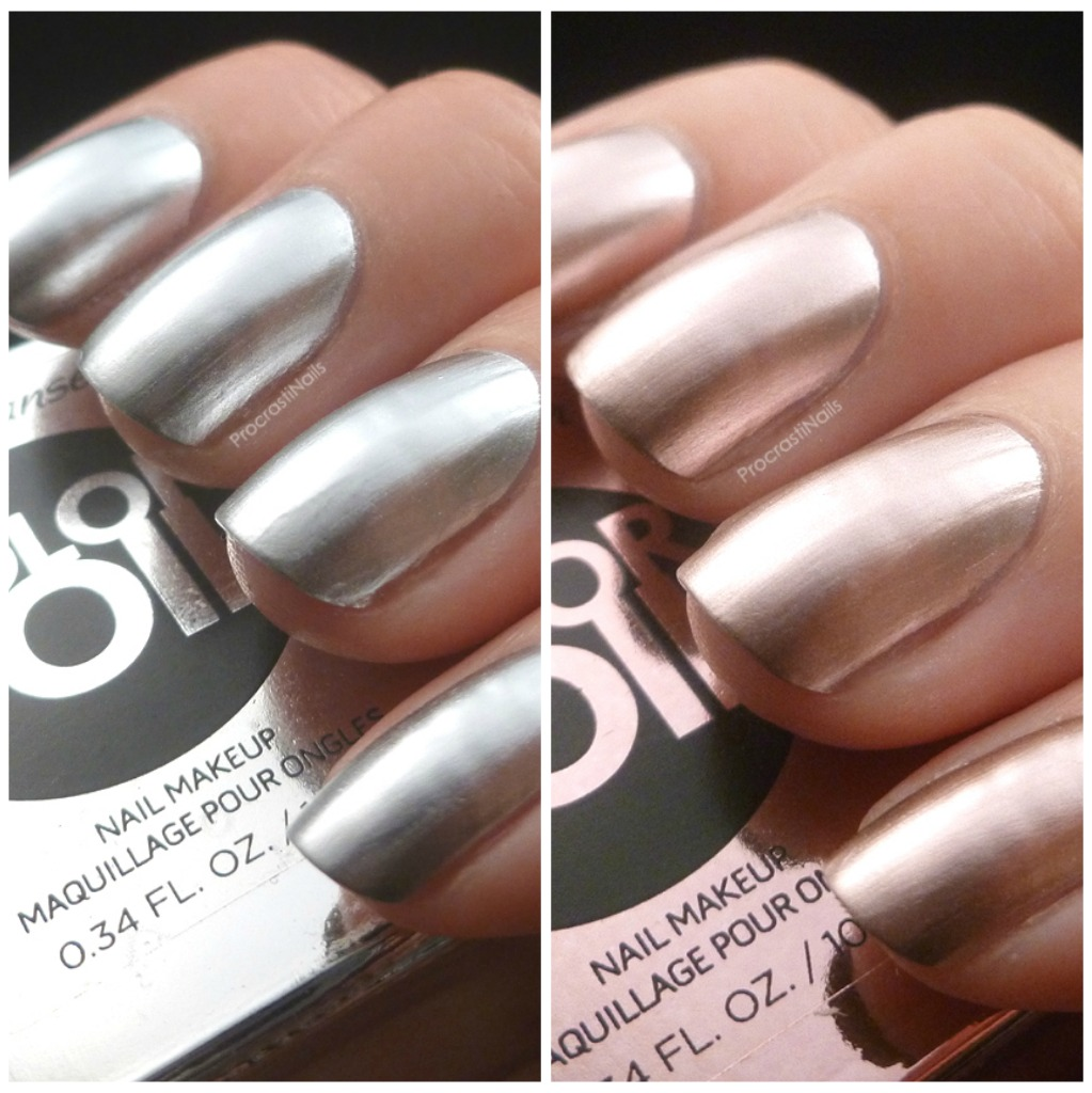Sally Hansen Color Foils! Sterling Silver and Rose Copper ...