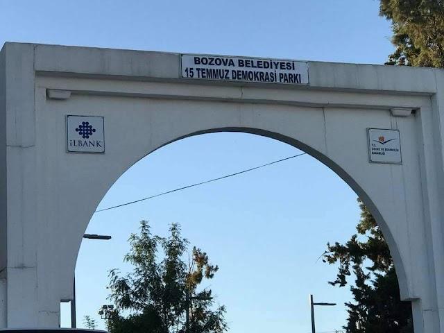 Bozova Berkin Elvan Parkının ismi değiştirildi