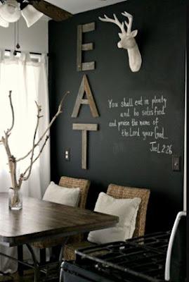 idées de décoration murale de salle à manger pinterest