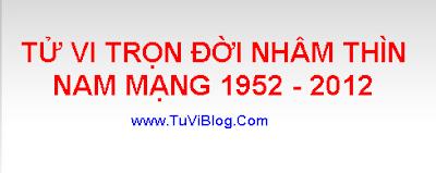 TU VI NHAM THIN 1952 2012