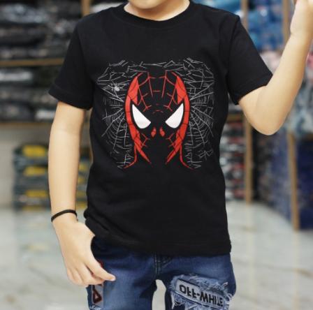 BAJU KAOS ANAK SUPERHERO cyclops spiderman captain amerika marvel