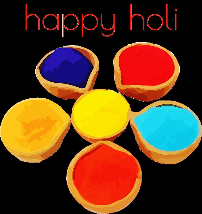 happy Holi holi colorful Free png