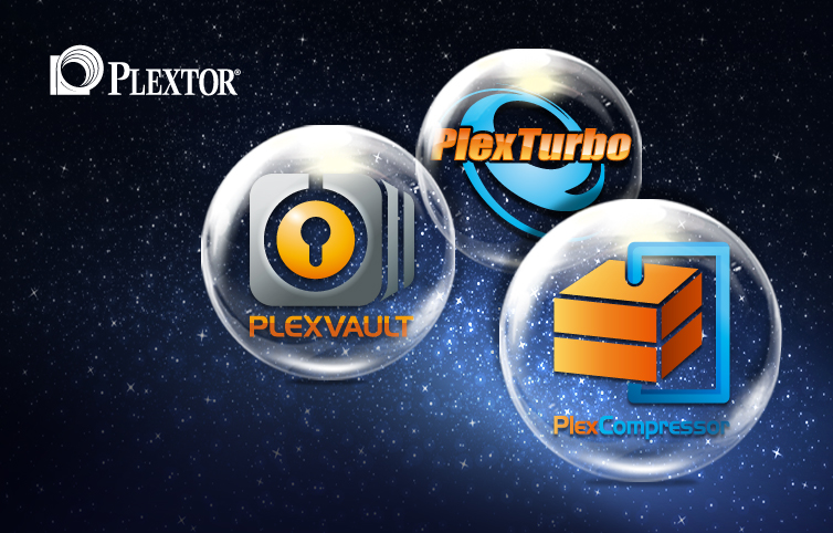 Plextor Releases PlexVault, PlexCompressor and PlexTurbo Caching Technology