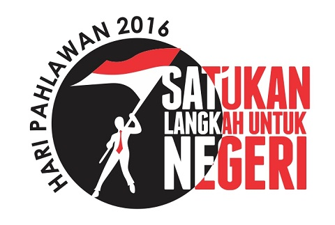Logo, Tema dan Slogan Hari Pahlawan 2016