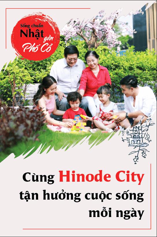 Cùng Hinode City tận hưởng cuộc sống hạnh phúc gia đình
