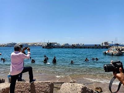 البيئة : اطلاق مبادرة the clean blue بشرم الشيخ