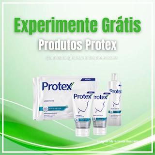 Experimente Grátis Brinde Grátis Produtos Protex