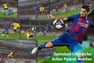 PES Pro Evolution Soccer 2017 Mod Apk v0.9 Unlimited Money Update