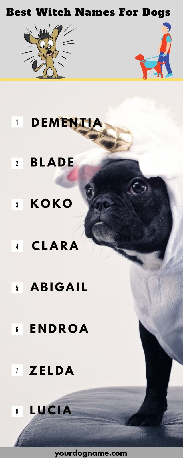 Witch Names For Dogs