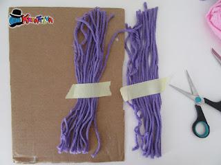 fili necessari per un unico cappellino di lana fai da te