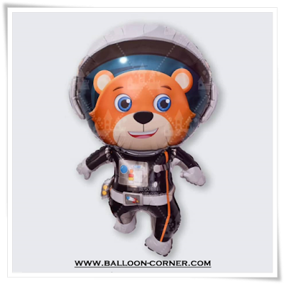 Balon Foil Space Bear Yadi