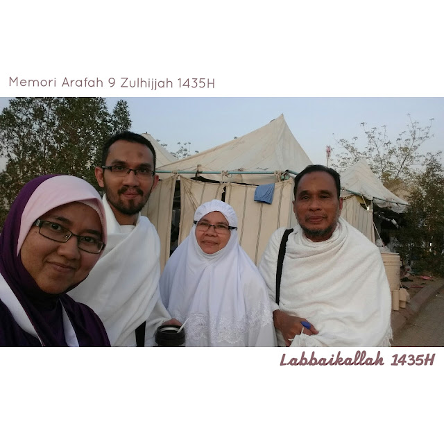 Arafah, Mina, Mudzalifah, wukuf di Arafah, Haji Akhbar, Haji 1435H, menunaikan haji di usia muda