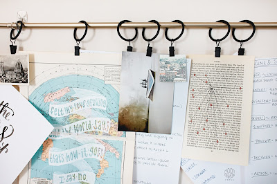 an example of a vision board